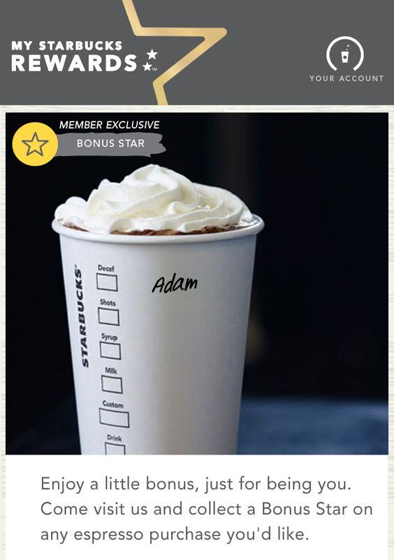 starbucks personalised cups